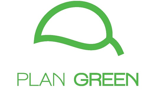 plan green logo simple