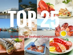 Proud to be named Top 13 North American Seafood Supplier